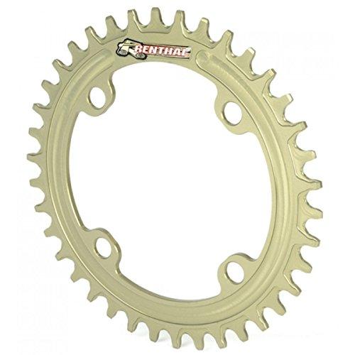 チェーンリング ギア パーツ 自転車 コンポーネント Renthal 1XR 104mm Retaining Aluminum Bicycle Chainring - 38T, 9-11sp, BCD: 104 - Gold - MCR107-564-38PHAチェーンリング ギア パーツ 自転車 コンポーネント