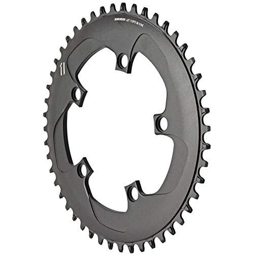 チェーンリング ギア パーツ 自転車 コンポーネント 11.6218.019.000 SRAM 11 Speed 48T 110 BCD X-Sync Bicycle Chain Ring, Blackチェーンリング ギア パーツ 自転車 コンポーネント 11.6218.019.000