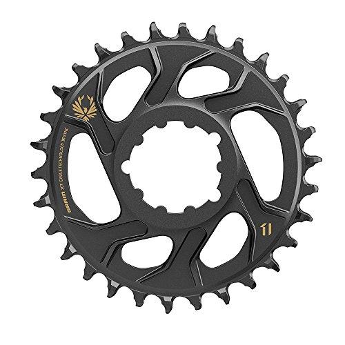 チェーンリング ギア パーツ 自転車 コンポーネント 11.6218.030.100 SRAM Chain Ring X-Sync 12S 30T Dm 6mm Offset, Goldチェーンリング ギア パーツ 自転車 コンポーネント 11.6218.030.100
