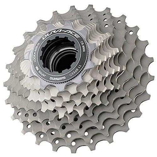 スプロケット フリーホイール ギア パーツ 自転車 ICS900011123 SHIMANO Dura Ace CS-9000 11-Speed Cassette (Grey, 11-23T)スプロケット フリーホイール ギア パーツ 自転車 ICS900011123