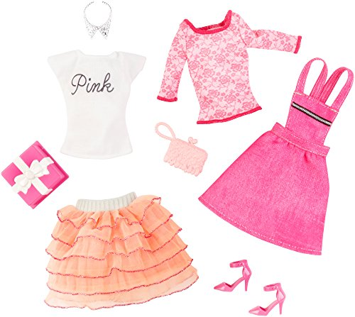 バービー バービー人形 着せ替え 衣装 ドレス CFY08 Barbie Fashion Complete Look 2-Pack, Birthday Setバービー バービー人形 着せ替え 衣装 ドレス CFY08