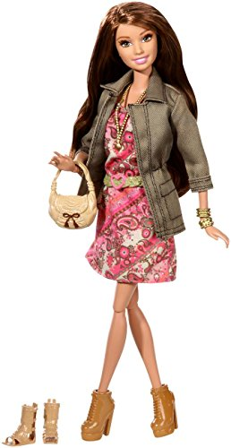 バービー バービー人形 バービースタイル CFM78 Barbie Style Summer Doll with Pink Paisley Dress and Jacketバービー バービー人形 バービースタイル CFM78