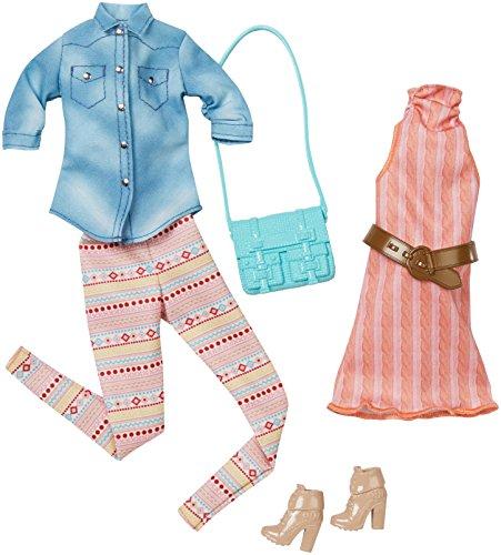 バービー バービー人形 着せ替え 衣装 ドレス DMF55 Barbie Fashion 2 Pack Casual - Pastelsバービー バービー人形 着せ替え 衣装 ドレス DMF55