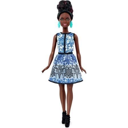 バービー バービー人形 ファッショニスタ 日本未発売 Barbie Fashionistas Doll 25, Blue Brocade, Petiteバービー バービー人形 ファッショニスタ 日本未発売
