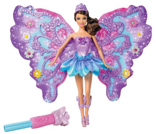 バービー バービー人形 ファンタジー 人魚 マーメイド W4470 Barbie Flower 'N Flutter Fairy Teresa Dollバービー バービー人形 ファンタジー 人魚 マーメイド W4470