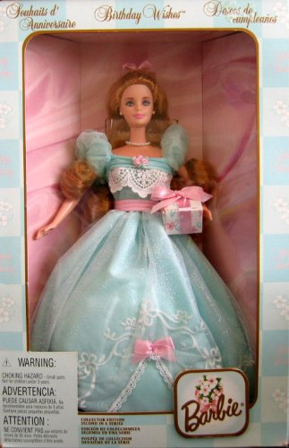 バービー バービー人形 日本未発売 バースデーバービー バースデーウィッシュ 【送料無料】Barbie Birthday Wishes Doll Colector Edition 2nd in Series (1999)バービー バービー人形 日本未発売 バースデーバービー バースデーウィッシュ