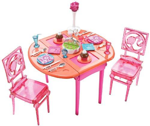 バービー バービー人形 日本未発売 プレイセット アクセサリ T7536 Barbie Dinner To Dessert Dining Room Setバービー バービー人形 日本未発売 プレイセット アクセサリ T7536