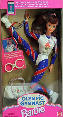 バービー バービー人形 日本未発売 【送料無料】Barbie Olympic Gymnast Barbie Doll (Auburn Hair 1995)バービー バービー人形 日本未発売