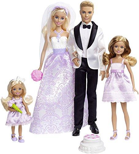 バービーウェディングギフトセット 結婚式 ディスプレイやプレゼントに最適