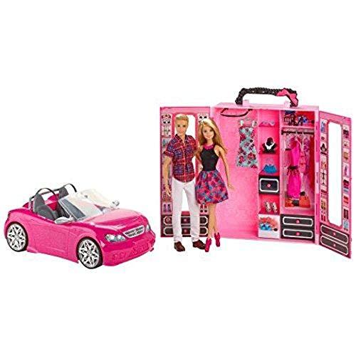 バービー バービー人形 ケン Ken Barbie Dress Up and Go Includes Ultimate Closet, Glam Convertible and Barbie & Ken Dolls Big Box Setバービー バービー人形 ケン Ken