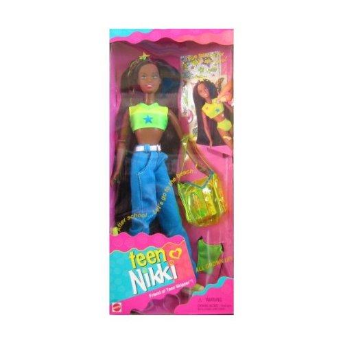 バービー バービー人形 チェルシー スキッパー ステイシー 17353 Barbie Teen NIKKI AA Doll, Friend of Skipper All Grown Up w Fun Tattoos (1996)バービー バービー人形 チェルシー スキッパー ステイシー 17353