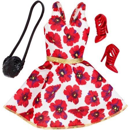 【超ポイント祭?期間限定】 バービー Dressバービー バービー人形 ドレス 着せ替え 衣装 ドレス 着せ替え Barbie Seasonal Fashion Pack- Red & White Dressバービー バービー人形 着せ替え 衣装 ドレス, Momo Select:bbf00d6f --- wktrebaseleghe.com