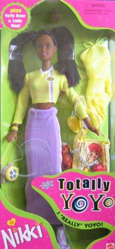 バービー バービー人形 日本未発売 22229 Barbie Totally YoYo NIKKI Doll AA w Extra Fashions & Accessories (1998)バービー バービー人形 日本未発売 22229