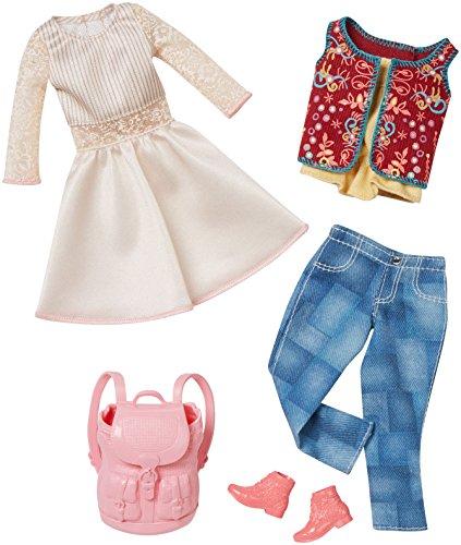バービー バービー人形 着せ替え 衣装 ドレス DMF57 【送料無料】Barbie Fashion 2 Pack Casual - White Dress & Jeansバービー バービー人形 着せ替え 衣装 ドレス DMF57