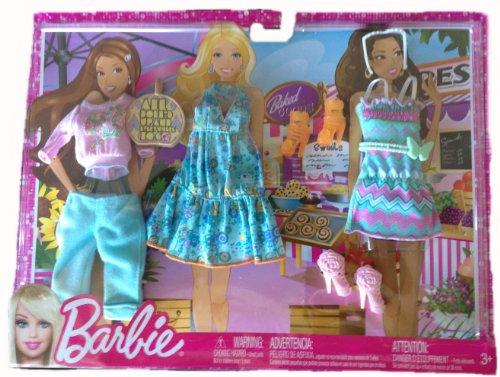 バービー バービー人形 着せ替え 衣装 ドレス R6818 【送料無料】Barbie Doll Outfits 2013 Shoppingバービー バービー人形 着せ替え 衣装 ドレス R6818