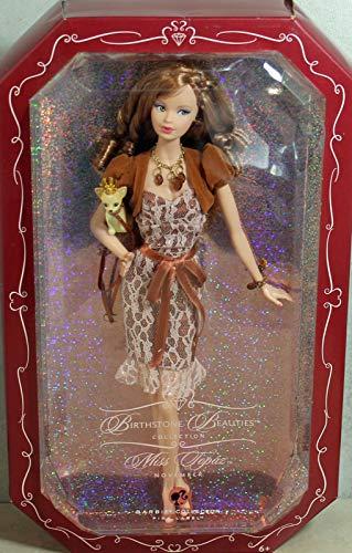 バービー バービー人形 バースストーン 誕生石 12カ月 K8700 【送料無料】Miss Topaz Barbie Doll; Birthstone Beauties Pink Label Collectionバービー バービー人形 バースストーン 誕生石 12カ月 K8700