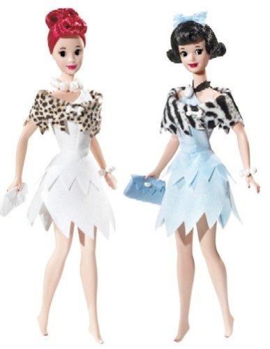 バービー バービー人形 バービーコレクター コレクタブルバービー プラチナレーベル M1211 Barbie Collector Silver Label - THE FLINTSTONES - BETTY AND WILMAバービー バービー人形 バービーコレクター コレクタブルバービー プラチナレーベル M1211