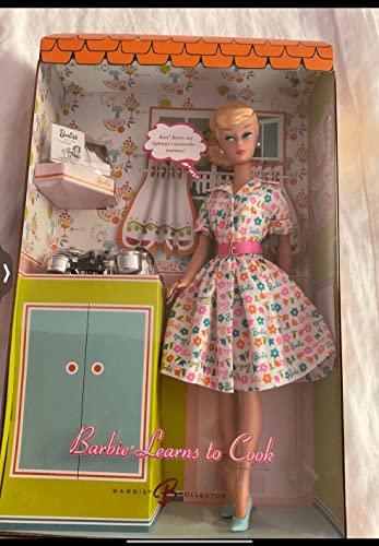 バービー バービー人形 バービーコレクター コレクタブルバービー プラチナレーベル Barbie LEARNS TO COOK Doll with Silver Tone Cookware GOLD LABEL Collectible Doll (2006)バービー バービー人形 バービーコレクター コレクタブルバービー プラチナレーベル