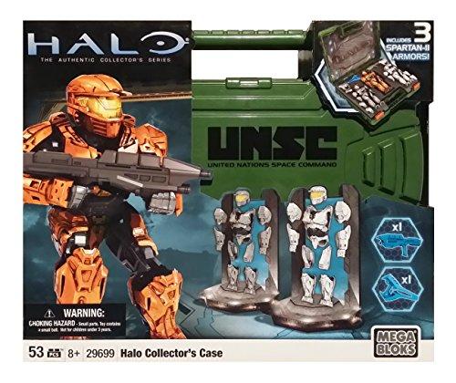 メガブロック メガコンストラックス ヘイロー 組み立て 知育玩具 29699 Mega Bloks Halo Spartan Armor Action Figure Collector's Case (Green Case)メガブロック メガコンストラックス ヘイロー 組み立て 知育玩具 29699