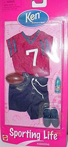 バービー バービー人形 着せ替え 衣装 ドレス Sporting Life Fashions for Ken Boyfriend of Barbie - Football Outfitバービー バービー人形 着せ替え 衣装 ドレス