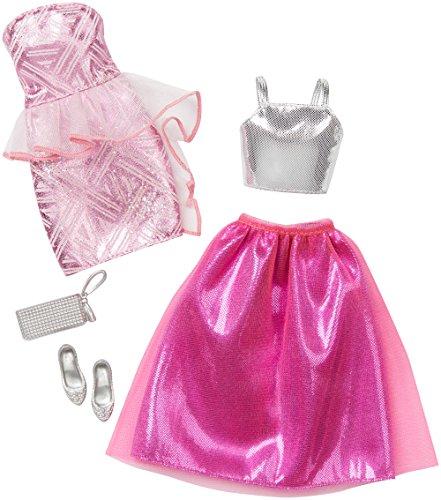 ★決算特価商品★ バービー 衣装 ドレス バービー人形 着せ替え 衣装 ドレス DNV36 Barbie Fashion 2 2 Pack Fancy - Pink & Silverバービー バービー人形 着せ替え 衣装 ドレス DNV36, kemari87:1028f444 --- wktrebaseleghe.com