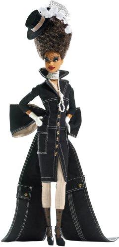 バービー バービー人形 バービーコレクター コレクタブルバービー プラチナレーベル L9601 Barbie Gold Label Byron Lars 3rd Doll in Chapeaux Collection Pepper Diva in Blacバービー バービー人形 バービーコレクター コレクタブルバービー プラチナレーベル L9601