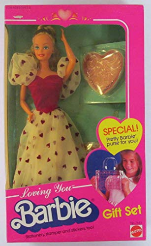 バービー バービー人形 日本未発売 7583 Barbie Loving You Doll Gift Set w Child Size Purse & More! (1983 (Mattel Hawthorne)バービー バービー人形 日本未発売 7583