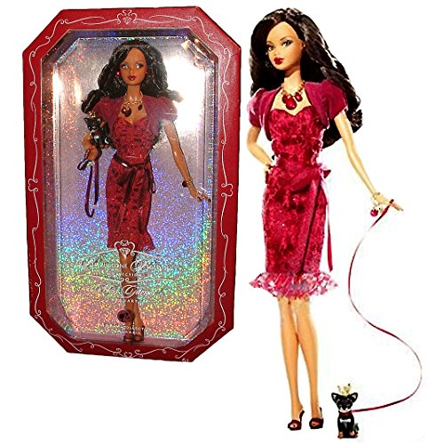 大特価 バービー バービー人形 バースストーン Pink 誕生石 with 12カ月 Mattel Year 2007 - Barbie Pink Label Birthstone Beauties Collection Series 12 Inch Doll - Miss Garnet January (African American Version) with Garnet Nバービー バービー人形 バースストーン 誕生石 12カ月, アライチョウ:22d0ba0d --- clftranspo.dominiotemporario.com