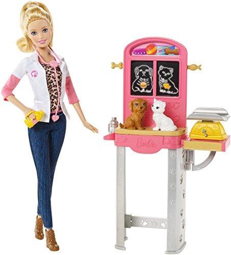 バービー バービー人形 バービーキャリア バービーアイキャンビー 職業 【送料無料】[Barbie] Barbie Careers Pet Vet Doll and Playset CCP70 [parallel import goods]バービー バービー人形 バービーキャリア バービーアイキャンビー 職業