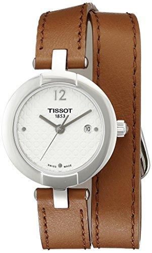 ティソ 腕時計 レディース T0842101601704 【送料無料】Tissot Women's T0842101601704 Pinky Analog Display Swiss Quartz Brown Watchティソ 腕時計 レディース T0842101601704