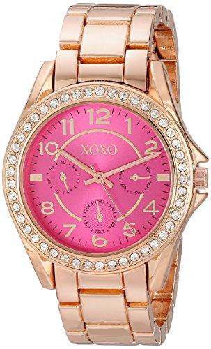 クスクス キスキス 腕時計 レディース XO177 XOXO Women's XO177 Analog Display Analog Quartz Rose Gold Watchクスクス キスキス 腕時計 レディース XO177