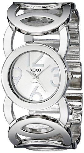クスクス キスキス 腕時計 レディース XO5210 【送料無料】XOXO Women's XO5210 Silver-Tone Watch with Link Braceletクスクス キスキス 腕時計 レディース XO5210