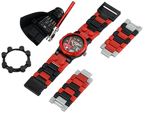 レゴ LEGO 腕時計 キッズ 子供 CT46125 【送料無料】Lego Darth Vader Watch Building Toy Time Light Saber Create Design Space Blocks Star Wars Evilレゴ LEGO 腕時計 キッズ 子供 CT46125