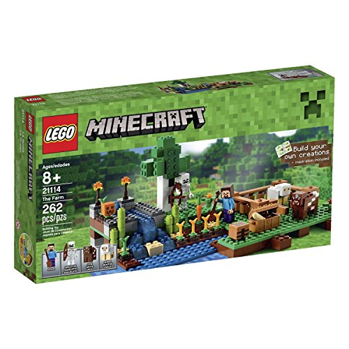 レゴ マインクラフト Steve Mini Figure with an Accessory, Plus a Skeleton, Cow & a Sheep Minecraftレゴ マインクラフト
