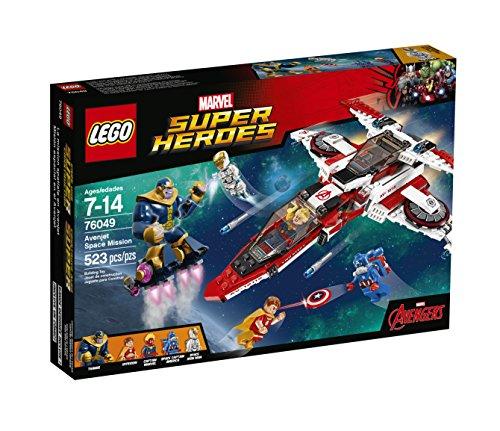 レゴ スーパーヒーローズ マーベル DCコミックス スーパーヒーローガールズ 6137814 【送料無料】LEGO Super Heroes Avenjet Space Mission 76049レゴ スーパーヒーローズ マーベル DCコミックス スーパーヒーローガールズ 6137814