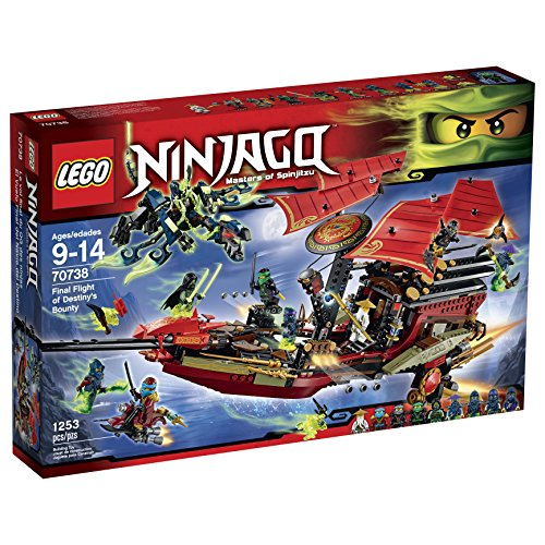 レゴ ニンジャゴー 70738 【送料無料】Lego Ninjago 70738 Final Flight of Destiny's Bounty Building Kitレゴ ニンジャゴー 70738