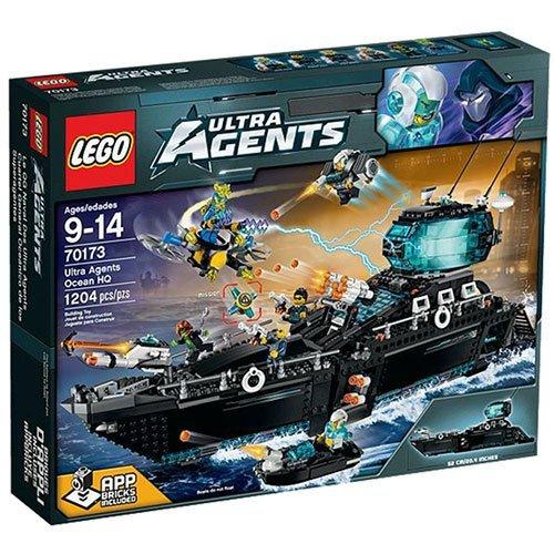 レゴ 70173 【送料無料】LEGO Agents Ultra Agents Ocean HQ - 70173レゴ 70173