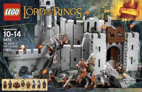 レゴ 4653957 【送料無料】LEGO The Lord of the Rings 9474 The Battle of Helm's Deep (Discontinued by manufacturer)レゴ 4653957