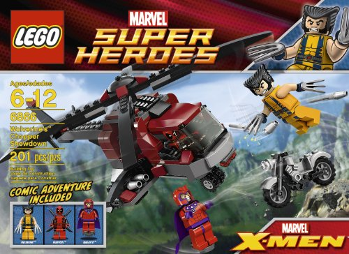 レゴ スーパーヒーローズ マーベル DCコミックス スーパーヒーローガールズ 4654654 LEGO Wolverine Chopper Showdown 6866 (Discontinued by manufacturer)レゴ スーパーヒーローズ マーベル DCコミックス スーパーヒーローガールズ 4654654