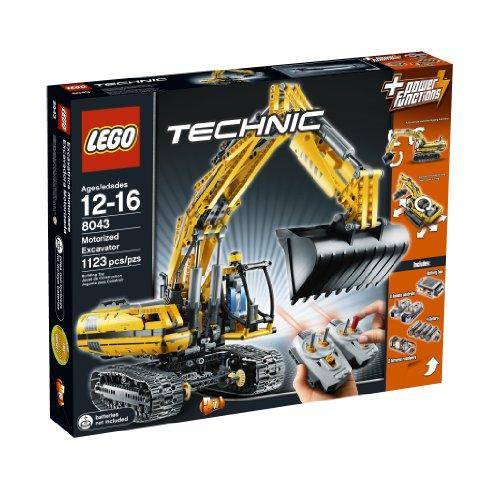レゴ テクニックシリーズ 4640063 LEGO TECHNIC Motorized Excavator 8043レゴ テクニックシリーズ 4640063