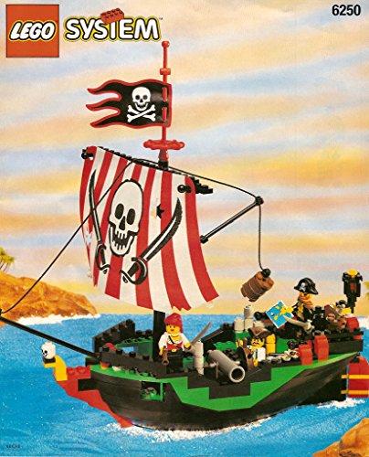レゴ 【送料無料】LEGO Pirate Cross Bone Clipper 6250レゴ