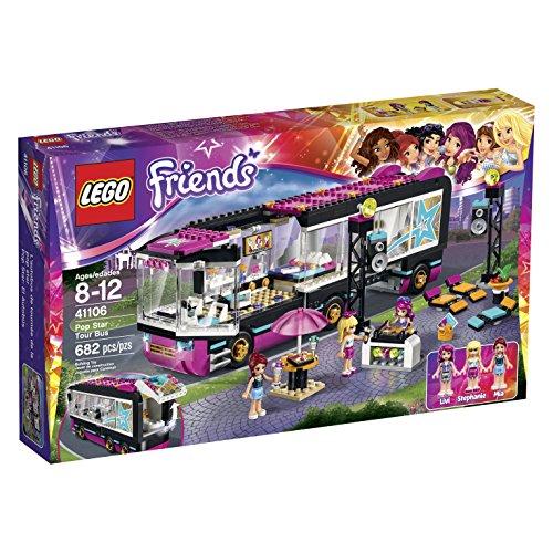 レゴ フレンズ 6099682 LEGO Friends 41106 Pop Star Tour Bus Building Kitレゴ フレンズ 6099682
