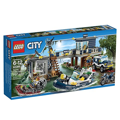 レゴ シティ 6100315 LEGO City Police Swamp Police Stationレゴ シティ 6100315