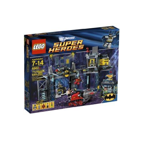 レゴ スーパーヒーローズ マーベル DCコミックス スーパーヒーローガールズ 6860 【送料無料】LEGO Super Heroes The Batcave 6860 (Discontinued by manufacturer)レゴ スーパーヒーローズ マーベル DCコミックス スーパーヒーローガールズ 6860
