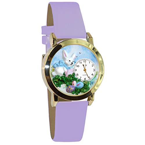 気まぐれな腕時計 かわいい プレゼント クリスマス ユニセックス 【送料無料】Easter Eggs Watch Small Gold Style気まぐれな腕時計 かわいい プレゼント クリスマス ユニセックス