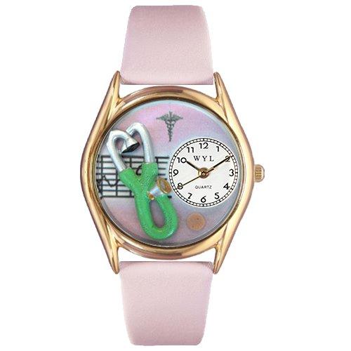 気まぐれな腕時計 かわいい プレゼント クリスマス ユニセックス 【送料無料】Nurse 2 Watch Small Gold Style気まぐれな腕時計 かわいい プレゼント クリスマス ユニセックス