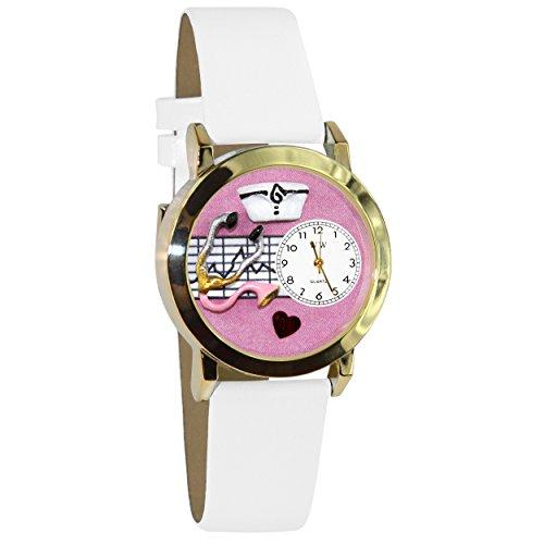 気まぐれな腕時計 かわいい プレゼント クリスマス ユニセックス C0620047 【送料無料】Whimsical Watches Unisex C0620047 Nurse Classic Analog Display Japanese Quartz White Watch気まぐれな腕時計 かわいい プレゼント クリスマス ユニセックス C0620047