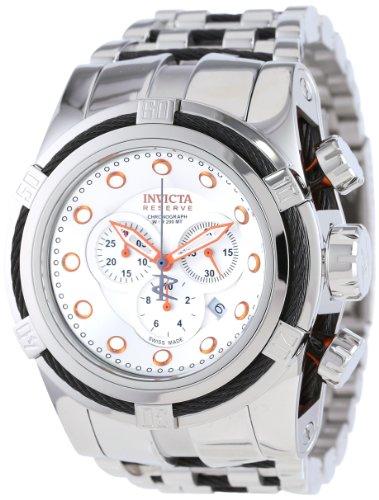 インヴィクタ インビクタ ボルト 腕時計 メンズ 14065 【送料無料】Invicta Men's 14065 Bolt Reserve Chronograph Silver Dial Stainless Steel Watchインヴィクタ インビクタ ボルト 腕時計 メンズ 14065