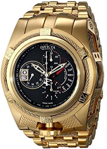 インヴィクタ インビクタ ボルト 腕時計 メンズ 16956 【送料無料】Invicta Men's 16956 Bolt Analog Display Swiss Quartz Gold Watchインヴィクタ インビクタ ボルト 腕時計 メンズ 16956