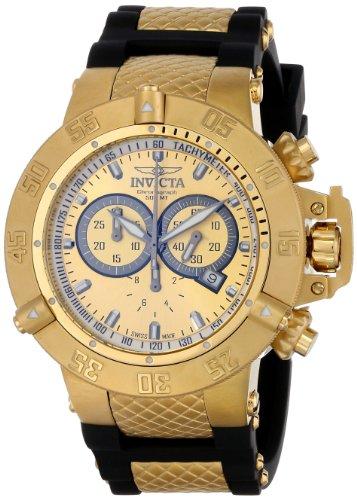 インヴィクタ インビクタ サブアクア 腕時計 メンズ INVICTA-5517 【送料無料】Invicta Men's 5517 Subaqua Collection Gold-Tone Chronograph Watchインヴィクタ インビクタ サブアクア 腕時計 メンズ INVICTA-5517
